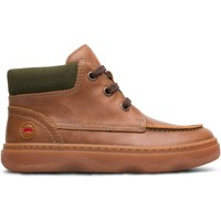 Chaussures Garçon Boots Camper Baskets cuir KIDO marron