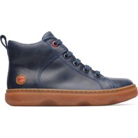 Chaussures Garçon Boots Camper Bottines cuir KIDO bleu