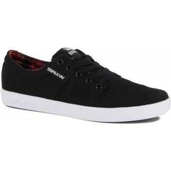 Chaussures de Skate Supra stacks 2 black aurora white