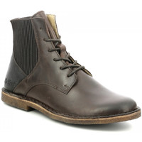 Chaussures Femme Boots Kickers Titi MARRON FONCE