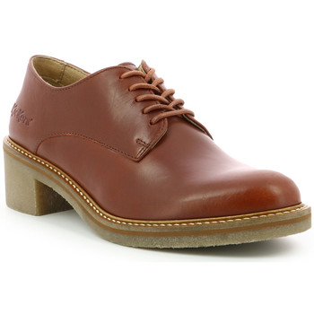 Chaussures Femme Derbies Kickers Oxyby CAMEL