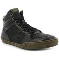 Chaussures Homme Baskets montantes Kickers Junglehigh NOIR