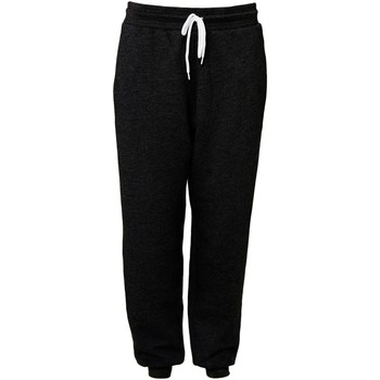 Vêtements Pantalons de survêtement Bella + Canvas CA3727 Noir