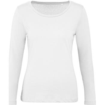 Vêtements Femme Le Coq Sportif B And C TW071 Blanc