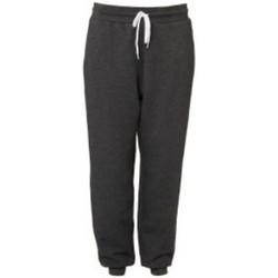 Vêtements Pantalons de survêtement Bella + Canvas CA3727 Gris foncé chiné