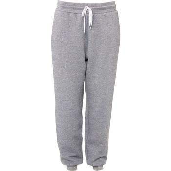 Vêtements Pantalons de survêtement Bella + Canvas CA3727 Gris chiné