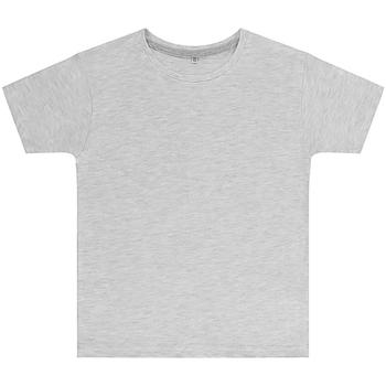 Vêtements Enfant T-shirts manches courtes Sg SGTEEK Gris chiné