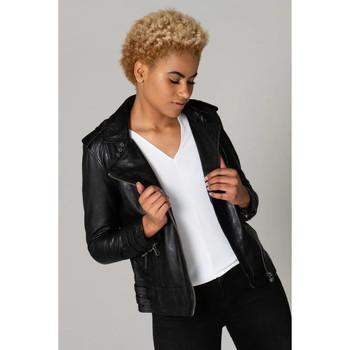 Vêtements Femme Vestes en cuir / synthétiques Cityzen APRILIA 2 BLACK Noir