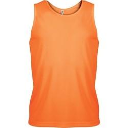 Vêtements Homme Débardeurs / T-shirts sans manche Proact Débardeur  Sport orange