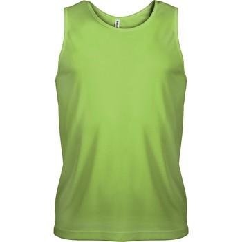 Vêtements Homme Débardeurs / T-shirts sans manche Proact Débardeur  Sport vert fluo