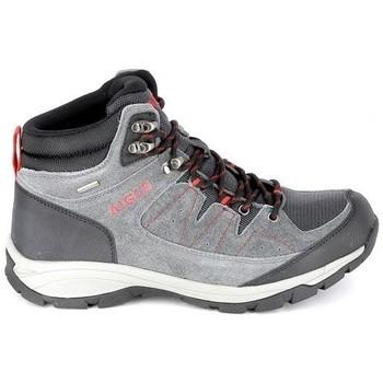 Chaussures Randonnée Aigle Vedur Mid MTD Gris Rouge Gris