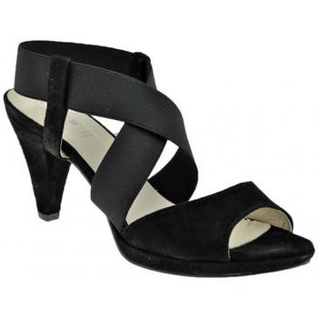 Chaussures Femme Sandales et Nu-pieds Keys Plateautalon80Sandales Noir