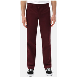 Vêtements Homme Chinos / Carrots Dickies S/stght work pant Bordeaux