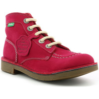 Chaussures Fille Boots Kickers Kick Col ROSE