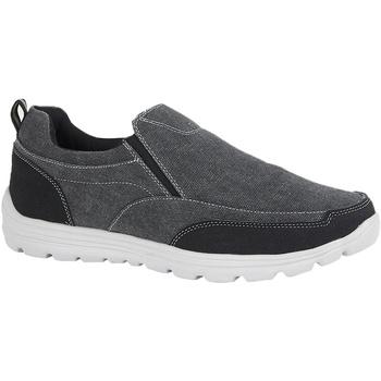Chaussures Homme Slip ons Dek  Noir