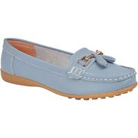 Chaussures Femme Mocassins Boulevard  Bleu