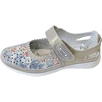 Chaussures Femme Ballerines / babies Boulevard  Gris/multicolore