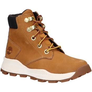 Chaussures Enfant Boots Timberland A28EC BROOKLYN Beige