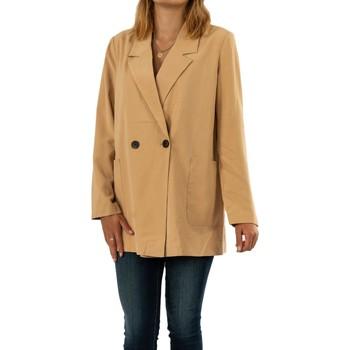 Vêtements Femme Blousons Vero Moda becca tan beige