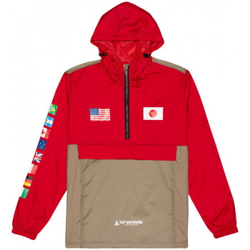Vêtements Homme Coupes vent Huf Jacket flags anorak Rouge