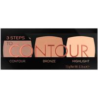 Beauté Femme Anti-cernes & correcteurs Catrice 3 Steps To Contour Palette 010-allrounder 7,5 Gr 7,5 g