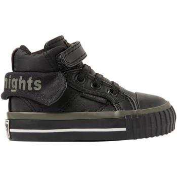 Chaussures Garçon Baskets montantes British Knights ROCO BB GARÇONS HAUT-DESSUS SNEAKER noirkakinoir