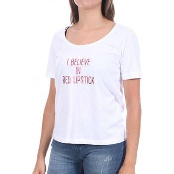 Vêtements Femme T-shirts manches courtes Pieces 17102896 Blanc