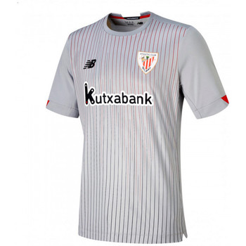 Vêtements T-shirts manches courtes New Balance AC Bilbao Segunda Equipación 2020-2021 Grey