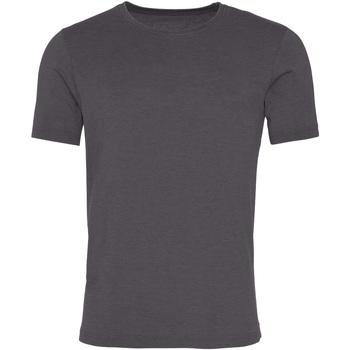 Vêtements Homme T-shirts manches courtes Awdis JT099 Gris foncé