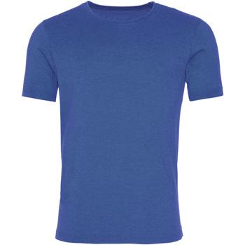 Vêtements Homme T-shirts manches courtes Awdis JT099 Bleu roi