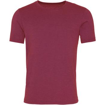 Vêtements Homme T-shirts manches courtes Awdis JT099 Bordeaux