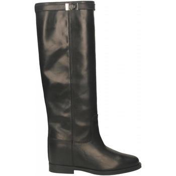 Chaussures Femme Bottes ville Via Roma 15 STIVALE CON LUCCHETTO nero