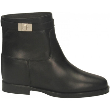 Chaussures Femme Bottines Via Roma 15 TRONCH.LUCCHETTO nero