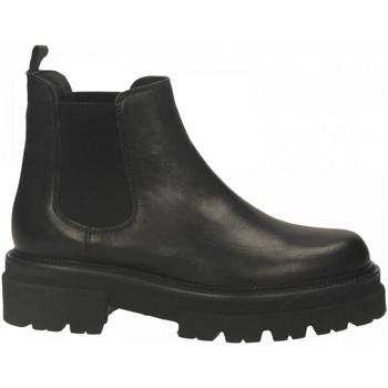 Chaussures Femme Bottines Mat:20 WEST nero