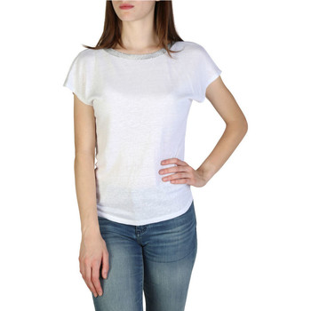 Vêtements Femme T-shirts manches courtes EAX - 3zymaryjk6z Blanc