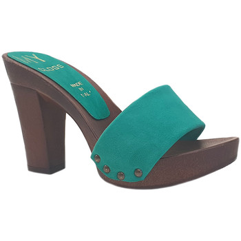 Chaussures Femme Mules My Clogs MY810 Vert