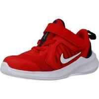 Chaussures Garçon Baskets basses Nike DOWNSHIFTER 10 Rouge