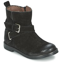 Chaussures Fille Boots Aster NINON Noir