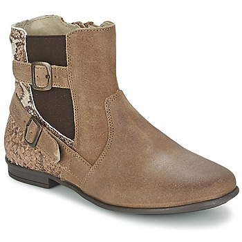 Bottines / Boots Aster DESIA Taupe / Imprimé 350x350