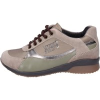 Chaussures Fille Baskets mode Miss Sixty sneakers textile beige