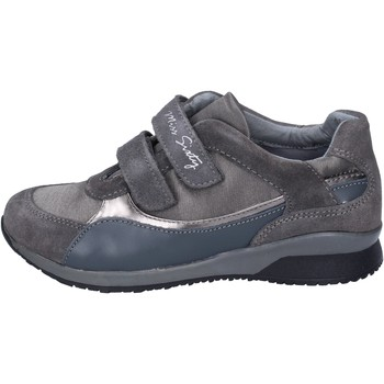 Chaussures Fille Baskets basses Miss Sixty sneakers daim gris