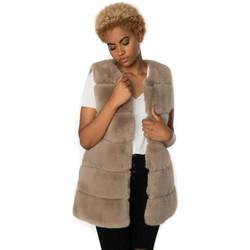 Vêtements Femme Manteaux Oakwood ACT TAUPE 525 Taupe