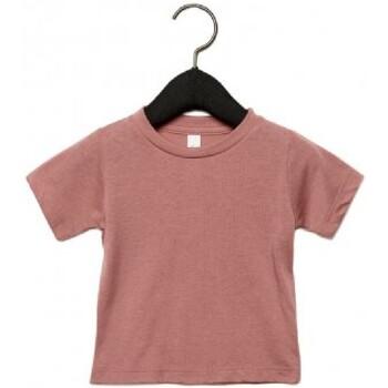 Vêtements Enfant T-shirts manches courtes Canvas CA3413T Mauve