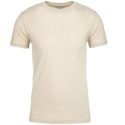 Vêtements T-shirts manches courtes Next Level NX3600 Beige clair