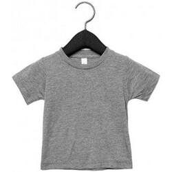 Vêtements Enfant T-shirts manches courtes Canvas CA3413T Gris