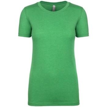 Vêtements Femme T-shirts manches courtes Next Level NX6710 Vert chiné