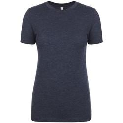 Vêtements Femme T-shirts manches courtes Next Level NX6710 Bleu marine chiné