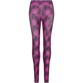 Vêtements Femme Leggings Awdis JC077 Rose vif/noir