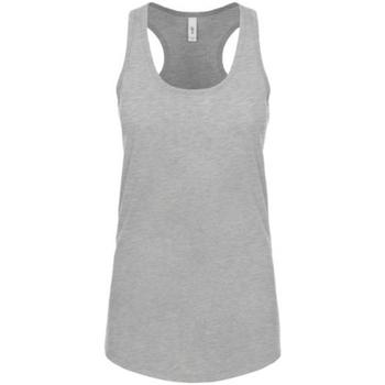 Vêtements Femme Débardeurs / T-shirts sans manche Next Level NX1533 Gris chiné