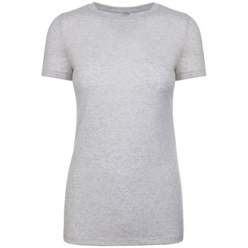 Vêtements Femme T-shirts manches courtes Next Level NX6710 Blanc chiné